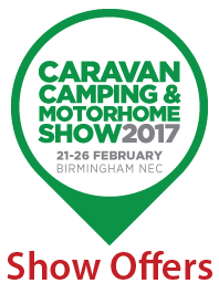 Caravan, Camping and Motorhome Show 2017 Offers