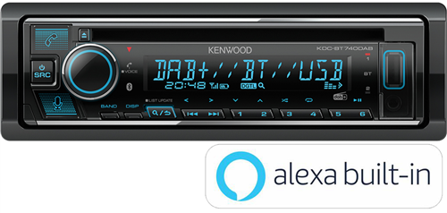 KENWOOD KDC BT740DAB
